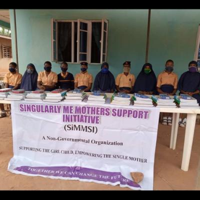 Picture showing sImmsi school support initiative at Muslim School, Akure